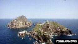 한국의 독도 전경. (자료사진)