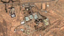 August 13, 2004 satellite image provided by DigitalGlobe and the Institute for Science and International Security shows the military complex at Parchin, Iran, southeast of Tehran.