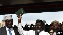 Raila Odinga mu birori vyo kwirahiza