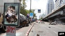 曼谷的一些区域看起来像战争地带