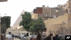 Scène de rue au Caire