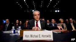 11 Aralık 2019 - ABD Adalet Bakanlığı Başmüfettişi Michael Horowitz