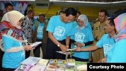 Gubernur DIY Sri Sultan HB X dalam Kampanye 'Dont Hurry to Get Marry' beberapa waktu lalu. (Foto: Pemda DIY)