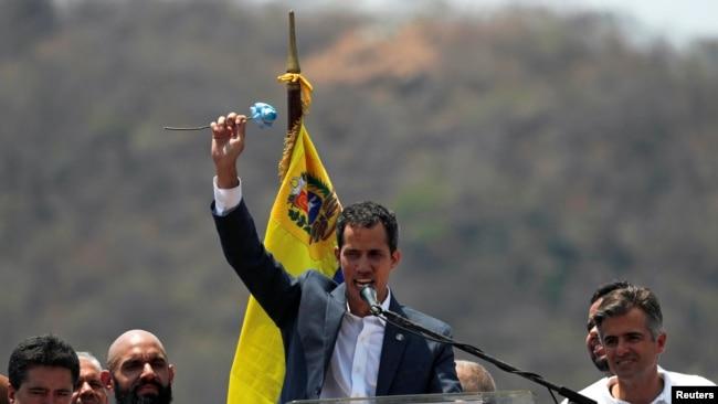 瓜伊多开始巡视委内瑞拉,美洲开发银行承认其政府