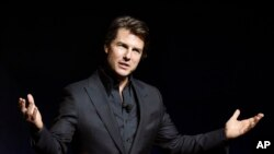Tom Cruise bintang film Mission Impossible - Rouge Nation
