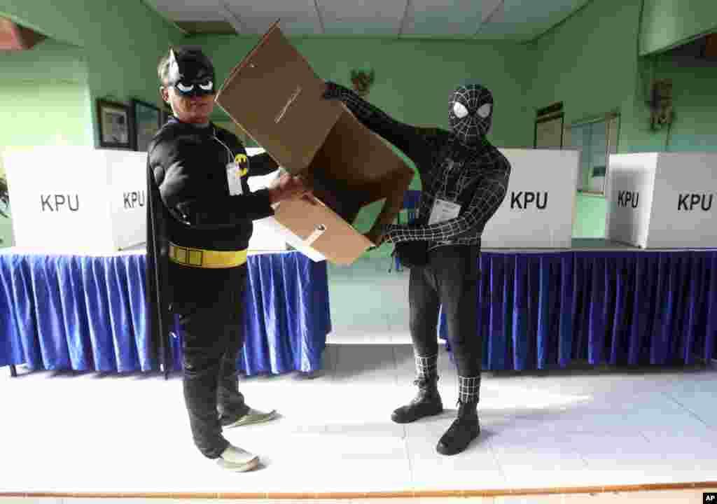 یہ پہلی مرتبہ ہے کہ صدر، نائب صدر اور پارلیمنٹ کے انتخابات ایک ساتھ ہوئے ہیں۔