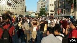 Gezi Park anniversary