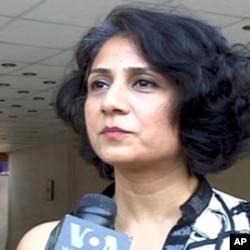 آل پاکستان میوزک کانفرنس کی سیکرٹری عائلہ رضا