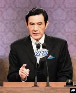 马英九在总统候选人辩论中