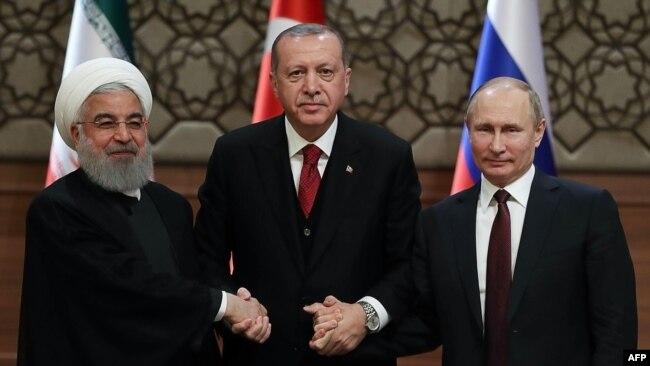 Erdoğan 14 Şubat'ta Astana süreci kapsamında İran'ın da yer aldığı zirve için Soçi'ye gitmişti