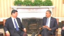习近平在白宫会晤奥巴马