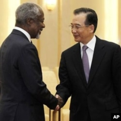 Kofi Annan taklif etgan reja Suriya mojarosini hal etish uchun so'nggi chora deb ko'rilmoqda