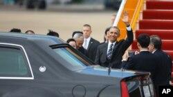 Prezident Obama uch kunlik tashrif bilan Vyetnamda.