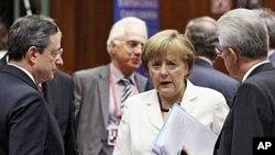 29일 벨기에 브뤼셀에서 열린 유럽연합 정상회의.