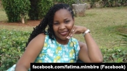 Fátima Mimbire, jornalista moçambicana
