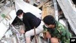 هلاکت بیش از یکهزار و یکصد تن از اثر زلزله در چین
