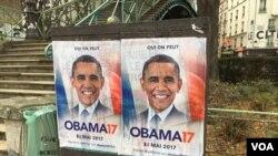 ျပင္သစ္သမၼတဝင္ေ႐ြးဖုိ႔ Obama ကိုေတာင္းဆို