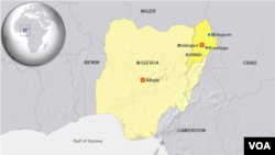 Towns of Monguno and Konduga, in Borna state, Nigeria