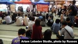 香港佔中第10日 各場地氣氛不同