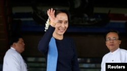 缅甸言论自由受挑战,昂山素季遭批评