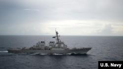 美国海军迪凯特号驱逐舰 (美国海军照片)