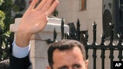 Syria's President Bashar al-Assad (file photo)