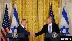 Američki predsednik i izraelski premijer u Vašingtonu