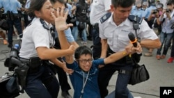 Clashes Between Residents and Pro-Democracy Activists in Hong Kong – Friday, Oct. 3
