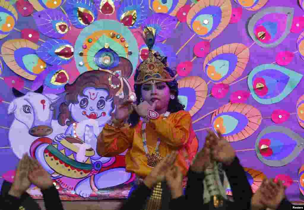 ہندوؤں کا ماننا ہے کہ بھگوان کرشنا نے زیادہ تر قیام شمالی بھارت میں کیا تھا۔