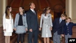 Məşhurlar: Maria Shriver və Arnold Schwarzenegger (video)