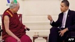 Tổng thống Obama hội kiến đức Ðạt Lai Lạt Ma tại Tòa Bạch Ốc hôm 18/7/11