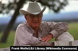 Johnson at his Texas ranch in 1972. One of his legacies remains the 25th amendment, which was ratified during his time in office.