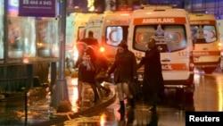 土耳其新年夜店屠杀案现场(2017年1月17日)