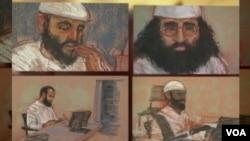 Sudski crteži osumnjičenih za terrorističke napade na SAD