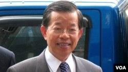 台湾民进党前主席谢长廷(资料图片)