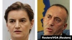 Ana Brnabić i Ramuš Haradinaj premijeri Srbije i Kosova, ilustrativna fotografija
