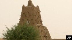 مسجدی باستانی در تیمبوکتوی مالی