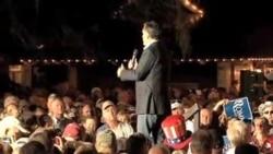 罗姆尼在佛罗里达州乡村市举行初选造势