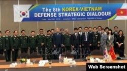 Các đại biểu tham gia Đối thoại quốc phòng Việt Nam - Hàn Quốc ngày 20/6/2019 tại Seoul. Photo TTXVN