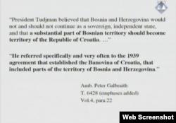 Tužilački dokaz u postupku protiv Prlića i drugih