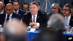 El secretario de Estado, Mike Pompeo, insistió en denunciar la ilegalidad de las pasadas elecciones en Venezuela y advirtió a Nicolás Maduro que las opciones de diálogo se están cerrando.