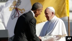 US Obama Pope Francis