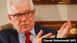 자이스크 크자푸토비츠 폴란드 외무장관.