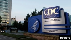 Kantor Pusat Disease Control and Prevention (CDC) di Atlanta, Georgia, 30 September 2014.
