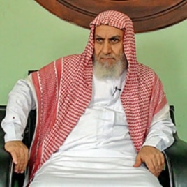 Salafi Sheikh Shaaban Darwish at his office in Giza, Egypt, April 5, 2011