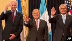 El vicepresidente de EE.UU., Joseph Biden, será anfitrión de los presidentes centroamericanos.