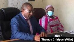 MDC T Douglas Mwonzora and Thokozani Khupe