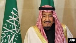 Le roi Salmane ben Abdulaziz Al Saud en voyage à Moscou, le 6 octobre 2017
