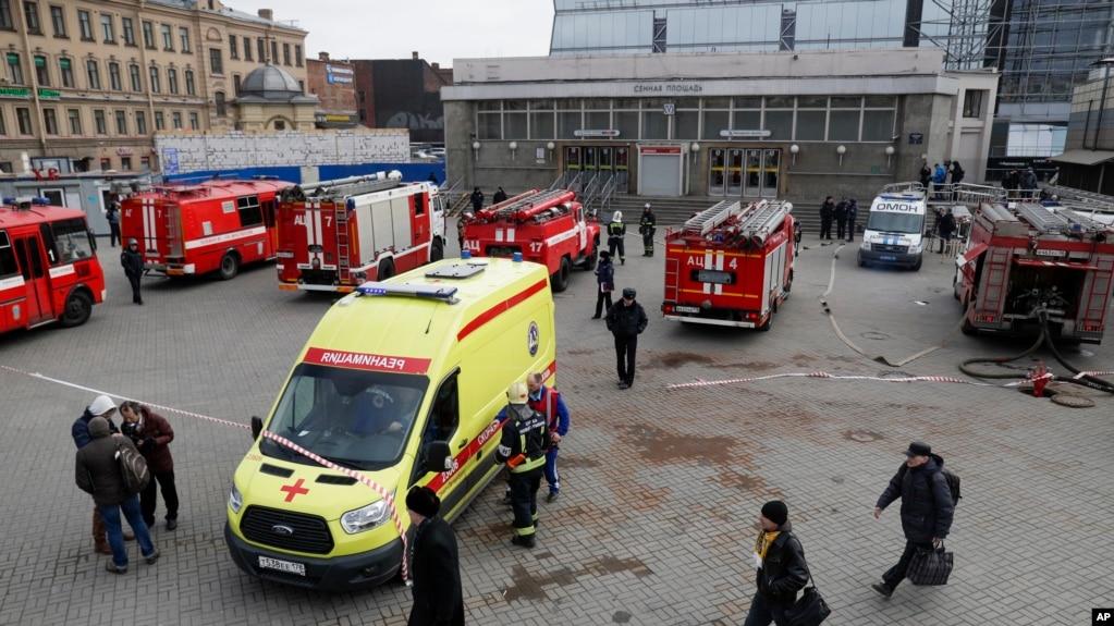 Rusia arreston të dyshuarin për sulmin e Shën Petërburgut