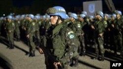 Abasirikare ba Bresil bo mu nteko za ONU muri Haiti (MINUSTAH).